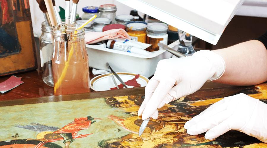 絵画の修復について